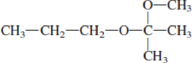 Chapter 4, Problem 4.99EP, Indicate whether each of the following compounds is an acetal. , example  2