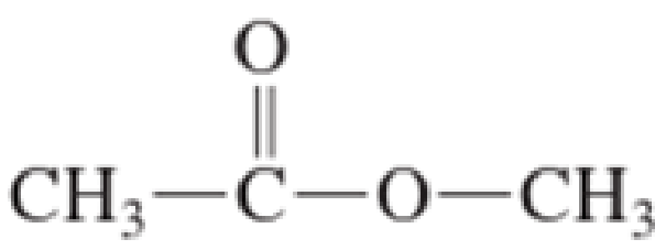 Chapter 5, Problem 5.121EP, What is the maximum number of hydrogen bonds that can form between a molecule of the ester and a.