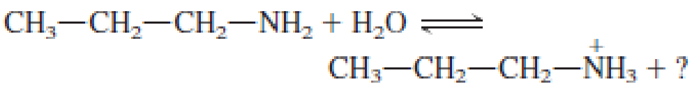 Chapter 6, Problem 6.42EP, Show the structures of the missing substance(s) in each of the following acid-base equilibria. a. , example  1