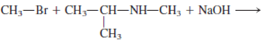 Chapter 6, Problem 6.61EP, Indicate whether or not each of the following reactions is an alkylation reaction. a. NH3 + , example  1
