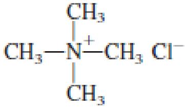 Chapter 6, Problem 6.71EP, Classify each of the following salts as an amine salt or a quaternary ammonium salt. a. , example  2