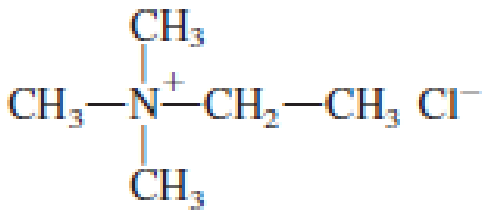 Chapter 6, Problem 6.74EP, Indicate whether or not each of the salts in Problem 17-72 can be converted back to its parent amine , example  1