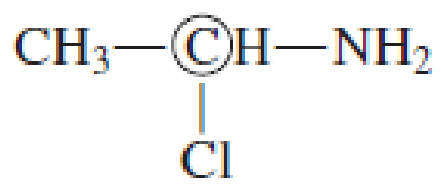 Chapter 7, Problem 7.16EP, Indicate whether the circled carbon atom in each of the following molecules is a chiral center. , example  4