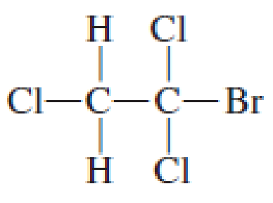 Chapter 7, Problem 7.17EP, Use asterisks to show the chiral center(s), if any, in the following structures. , example  1