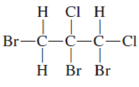 Chapter 7, Problem 7.17EP, Use asterisks to show the chiral center(s), if any, in the following structures. , example  2