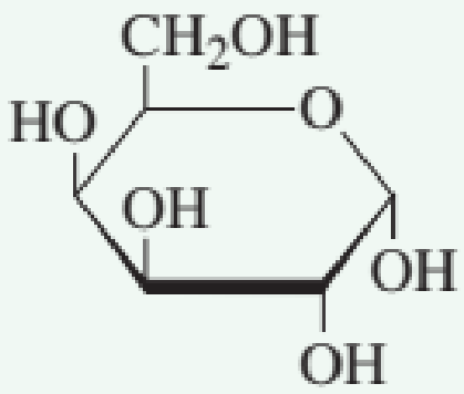 Chapter 7.10, Problem 2QQ, Which of the following structures represents a -monosaccharide? a. no correct response , example  1