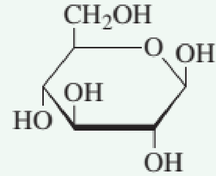 Chapter 7.10, Problem 2QQ, Which of the following structures represents a -monosaccharide? a. no correct response , example  2