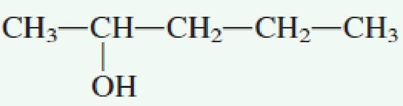 Chapter 7.4, Problem 1QQ, Which of the following molecules possesses a chiral center? a. no correct response , example  2