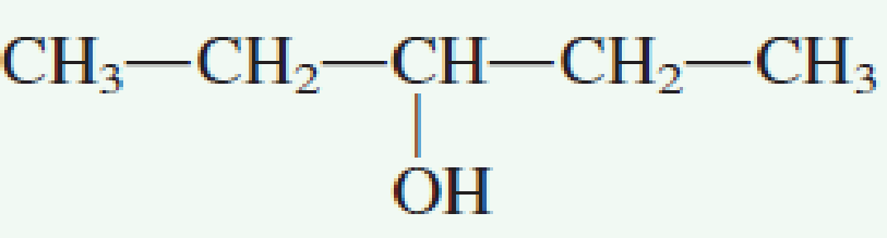 Chapter 7.4, Problem 1QQ, Which of the following molecules possesses a chiral center? a. no correct response , example  3