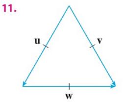 Chapter 12.3, Problem 11E, If u is a unit vector, find u  v and u  w.