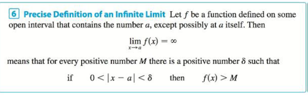Chapter 2.4, Problem 42E, Prove, using Definition 6, that limx31(x+3)4= Definition 6