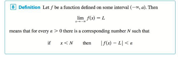 Chapter 2.6, Problem 77E, Use Definition 8 to prove that limx1x=0. Definition 8