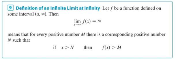Chapter 2.6, Problem 78E, Prove, using Definition 9, that limxx3=. Definition 9