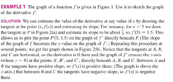 Chapter 2.8, Problem 9E, Trace or copy the graph of the given function .f. (Assume that the axes have equal scales.) Then use , example  1