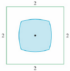 Chapter 5, Problem 18P, The figure shows a region consisting of all points inside a square that are closer to the center