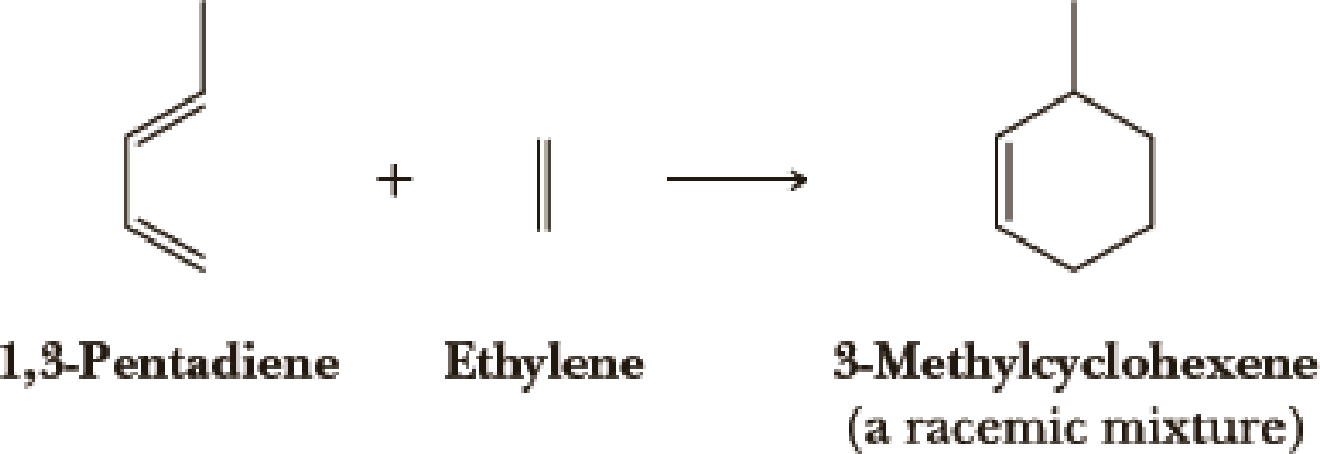 Chapter 6, Problem 6.53P, Following is an example of a type of reaction known as a Diels-Alder reaction (Chapter 20). The