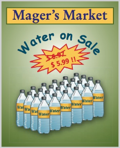 Chapter 3, Problem 36AT, At Magers Market, a 24-bottle case of spring water is on sale for $5.99. If the regular price for