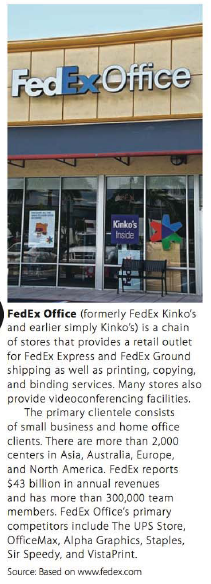 Chapter 5.II, Problem 22RE, Use ratio and proportion to solve the following business situations. 22. A local FedEx Office store