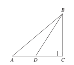 Chapter 1.1, Problem 44PS, Problems 43 and 44 refer to Figure 21. Figure 21 Find BD if BC=5 , AB=13, and AD=4.