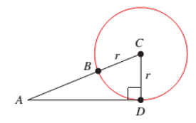 Chapter 1.1, Problem 45PS, Problems 45 and 46 refer to Figure 22, which shows a circle with center at C and a radius of r, and