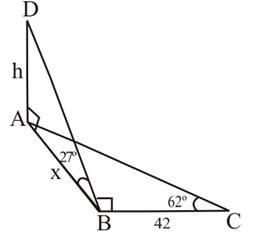 Chapter 2.3, Problem 45PS, Figure 8 shows two right triangles drawn at 900 to each other. For Problems 45 through 48, redraw