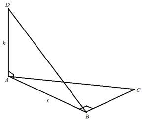 Chapter 2.3, Problem 46PS, Figure 8 shows two right triangles drawn at 900 to each other. For Problems 45 through 48, redraw