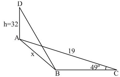 Chapter 2.3, Problem 48PS, Figure 8 shows two right triangles drawn at 900 to each other. For Problems 45 through 48, redraw