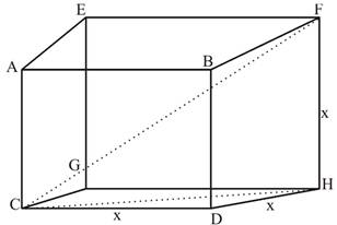 Chapter 2.3, Problem 57PS, Suppose each edge of the cube shown in Figure 10 is x inches long. Find the measure of the angle