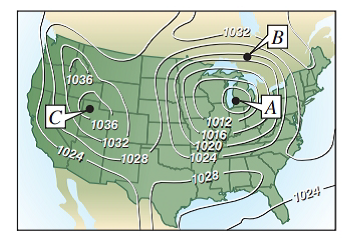 Chapter 7.3, Problem 51E, Meteorology Meteorologists measure the atmospheric- pressure in millibars. From these observations