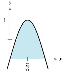 Chapter 8, Problem 119RE, Finding Area by Integration In Exercises 119-122, find the area of the region. y=sin3x