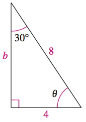 Chapter 8, Problem 17RE, Analyzing Triangles In Exercises 1720, solve the triangle for the indicated side and/or angle.