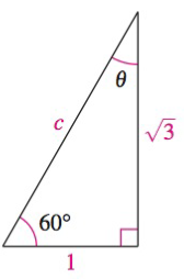 Chapter 8, Problem 18RE, Analyzing triangles In Exercises 1720, solve the triangle for the indicated side and/or angle.