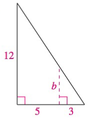 Chapter 8, Problem 20RE, Analyzing Triangles In Exercises 1720, solve the triangle for the indicated side and/or angle.