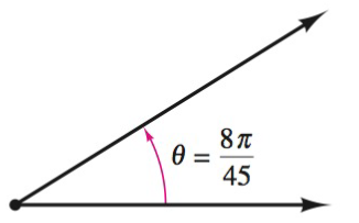 Chapter 8.1, Problem 10E, Finding Conterminal Angles In Exercise 7-10, determine two conterminal angles in radian measure (one