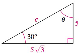 Chapter 8.1, Problem 33E, Analyzing Triangles In Exercises 33-40, solve the triangle for the indicated side and/or angle.