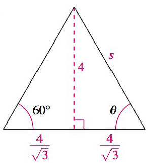 Chapter 8.1, Problem 36E, Analyzing Triangles In Exercises 33-40, solve the triangle for the indicated side and/or angle.