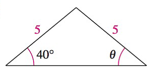 Chapter 8.1, Problem 37E, Analyzing Triangles In Exercises 33-40, solve the triangle for the indicated side and/or angle.