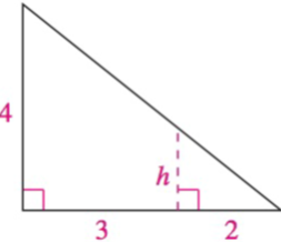 Chapter 8.1, Problem 40E, Analyzing Triangles In Exercises 33-40, solve the triangle for the indicated side and/or angle.