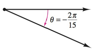 Chapter 8.1, Problem 9E, Finding Conterminal Angles In Exercise 7-10, determine two conterminal angles in radian measure (one