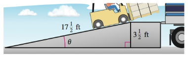 Chapter 8.2, Problem 77E, Loading Ramp A ramp 1712 feet in length rises to a loading platform that is 312 feet off the ground