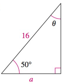 Chapter 8.3, Problem 19QY, In Exercises 18-20, solve the triangle for the indicated side and angle.