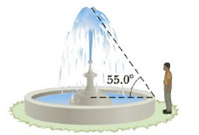 Chapter 1, Problem 47P, A high fountain of water is located at the center of a circular pool as shown in Figure P1.47. Not