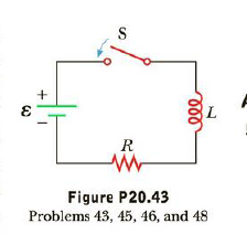 Chapter 20, Problem 45P, The battery terminal voltage in Figure P20.43 is  = 9.00 V and the current I reaches half its