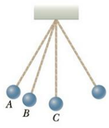 Chapter 7, Problem 5CQ, A pendulum consists of a small object called a bob hanging from a light cord of fixed length, with