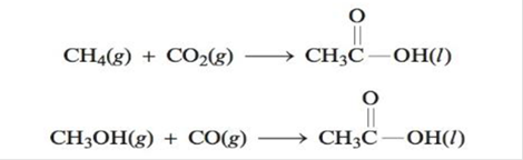 Chapter 17, Problem 63E, Using data from Appendix 4, calculate H, S and G for the following reactions that produce acetic