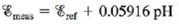 Chapter 18, Problem 147CP, The measurement of pH using a glass electrode obeys the Nernst equation. The typical response of a , example  1
