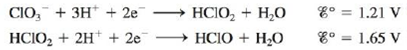 Chapter 18, Problem 86E, A disproportionation reaction involves a substance that acts as both an oxidizing and a reducing