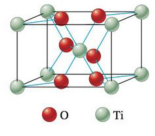 Chapter 21, Problem 28E, Titanium dioxide, the most widely used white pigment, occurs naturally but is often colored by the