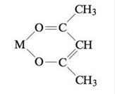Chapter 21, Problem 71AE, Acetylacetone (see Exercise 43, part a), abbreviated acacH, is a bidentate ligand. It loses a proton