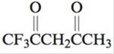 Chapter 21, Problem 76AE, A compound related to acetylacetone is 1,1,1-trifluoroacetylacetone (abbreviated Htfa): Htfa forms